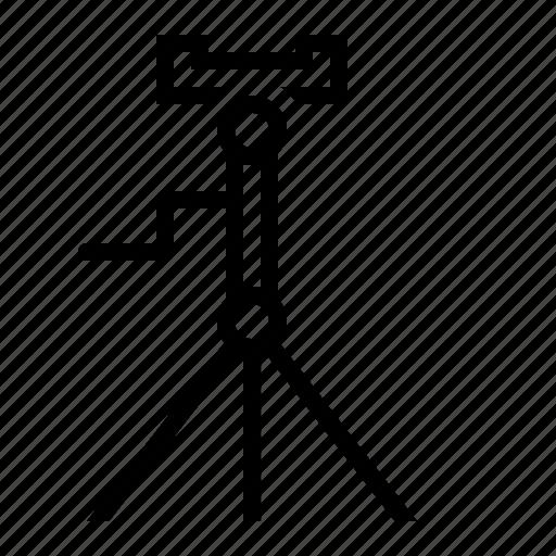 accessory, camera, phone, stand, tripod icon