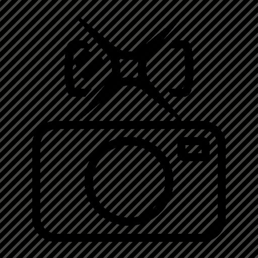 accessory, camera, flash, picture, taking icon