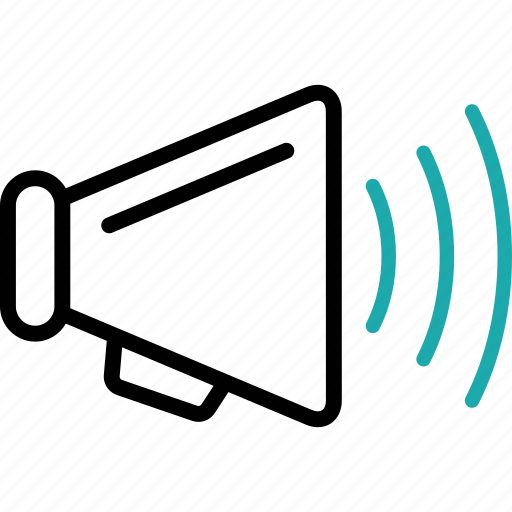 advertise, loudspeak, marketing, notice, search, seo, speaker icon