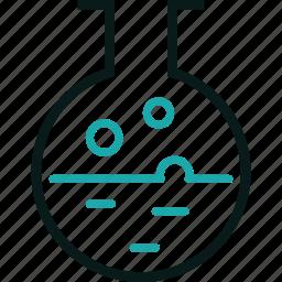 beaker, chemistry, experiment, science, seo, try, tube icon