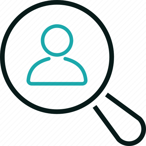 customer, find, marketing, search, seo, user icon