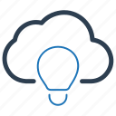 campaign, cloud, creative campaign icon