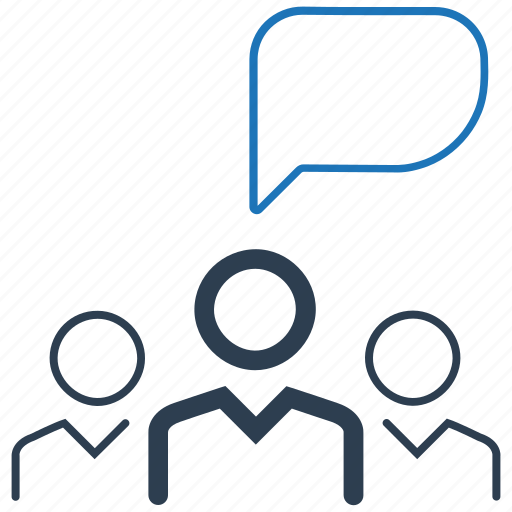 business, conversation, discussion, teamwork icon
