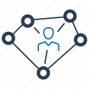business, business connectivity, business link, connection icon