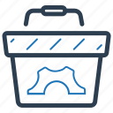 e-commerce, optimization, solution icon