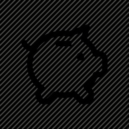 Bank, money saving, piggy, piggy bank, savings icon - Download on Iconfinder