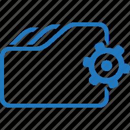 automation, folder, setting icon
