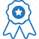 achievement, award, badge, certificate, certificated, recomendation icon