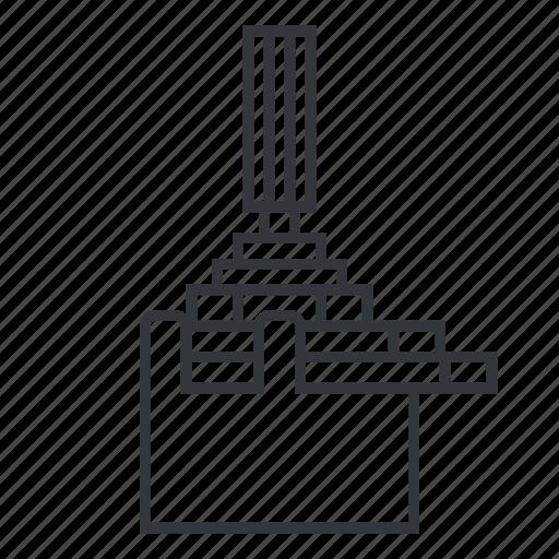 knob, pot, potentiometer, rheostat, variable resistor icon