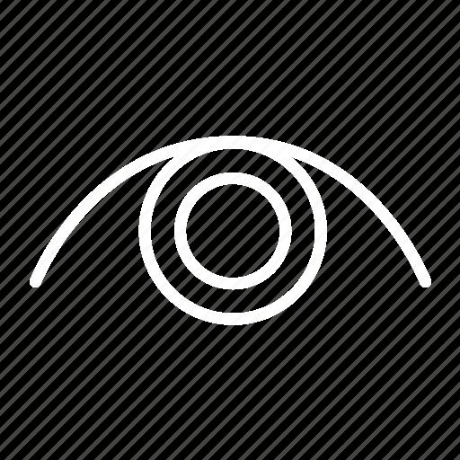 eye, look, open, view, views icon