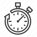 clock, fast, save, stopwatch, time icon