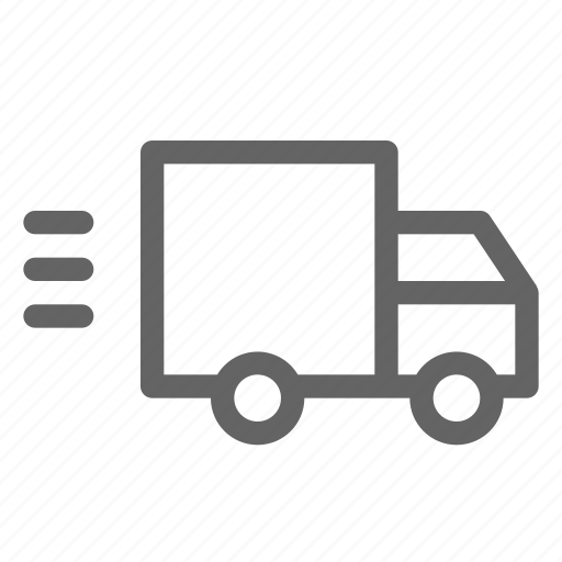 delivery, fast, shipping, truck icon