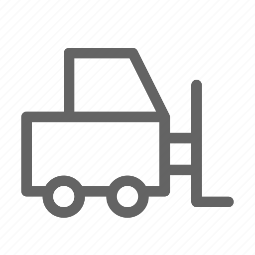 cargo, forklift, logistic, storage icon