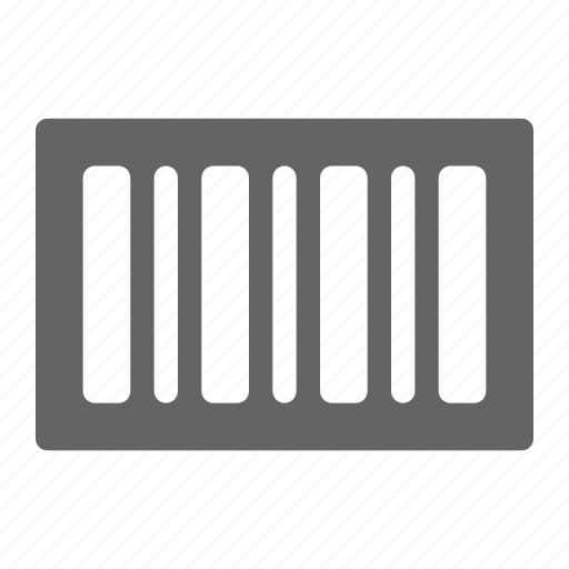 barcode, code, label, package icon