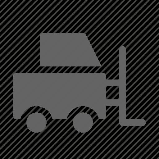 cargo, forklift, logistic, storage icon