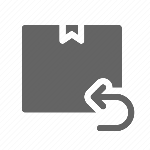 delivery, package, return, shipping icon