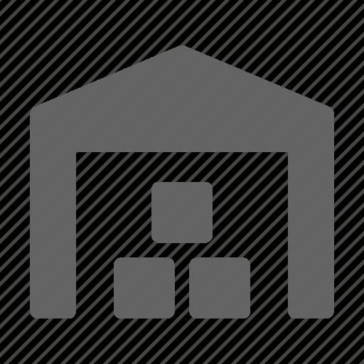 industry, storage, storehouse, warehouse icon