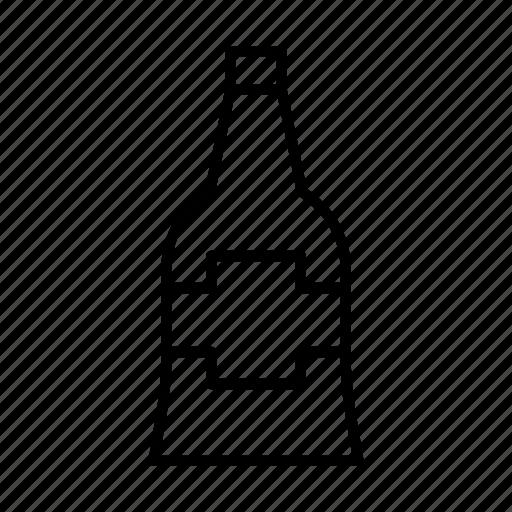 Alcohol, beverage, bottle, drink, wine icon - Download on Iconfinder