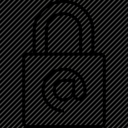internet, key, lock, locked, padlock, pasword icon