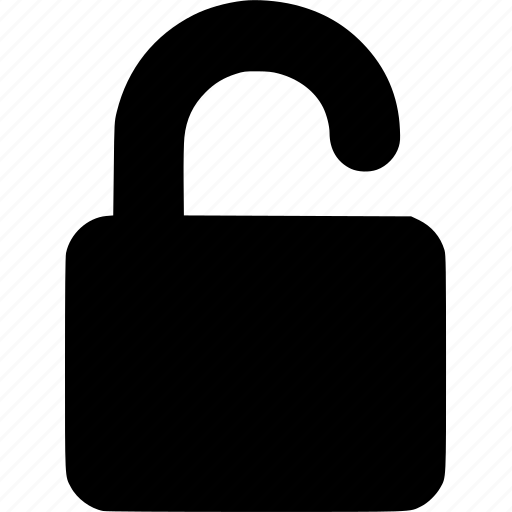 locked, locker, padlock, private, protect, protection, safe, safety, secure, security, unlock icon