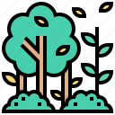 forest, jungle, tree, wild, woods icon