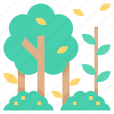 wild, woods, tree, forest, jungle icon