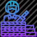 ambush, attack, hide, thief, invade icon