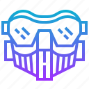 empire, flex, goggles, mask, paintball icon