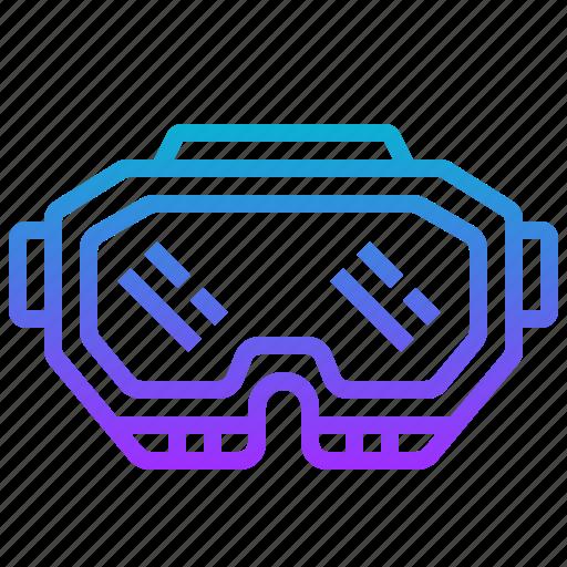 eyewear, goggle, mask, paintball, protection icon