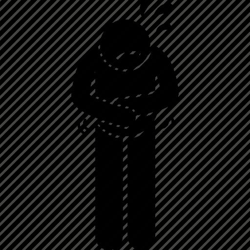 Abdomen, abdominal, discomfort, pain icon - Download on Iconfinder