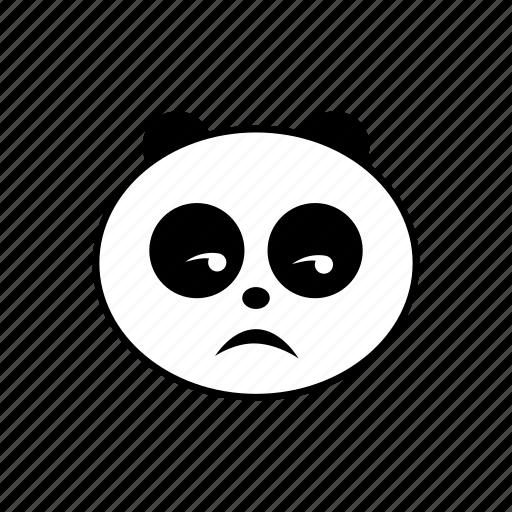 emoticon, panda icon