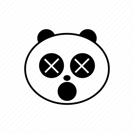 emoticon, panda icon