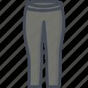 clothes, jeans, leggins, pants, shorts icon