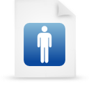blue, document, file, paper icon