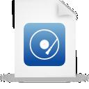 file, document, paper, blue