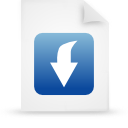 blue, document, file, paper icon