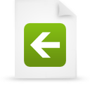 file, document, paper, green