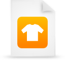 file, document, paper, orange