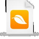document, file, orange, paper