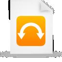 orange, file, document, paper