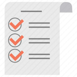 document, file, list, note, paper, reminder, sheet icon