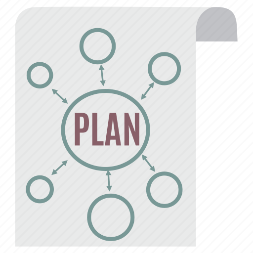 business, business plan, marketing plang, paper, plan, planning, strategy icon