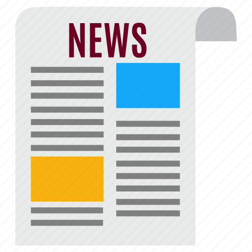 news, newsletters, newspaper, notice, paper, press, sheet icon