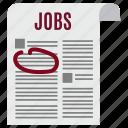 business, file, jobs, news, newspaper, paper, sheet