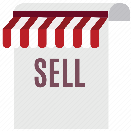 buy, document, file, paper, sell, shop, store icon