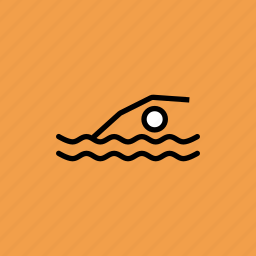 olympics, paralympic, paralympics, swim, swimming, water icon