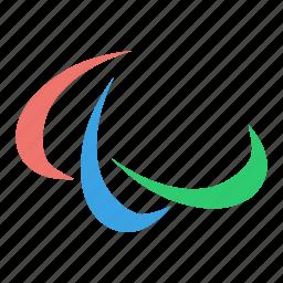 games, logo, olympic, olympics, paralympic, paralympics icon
