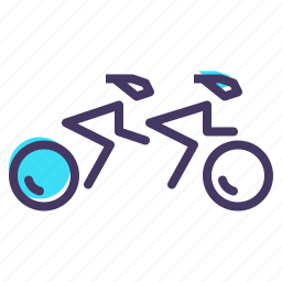 cycling, disabled, games, olympics, paralympic, paralympics, track icon