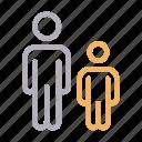 avatar, child, father, man, son