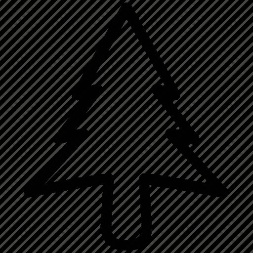 christmas tree, fir tree, generic tree, nature, park, tree icon